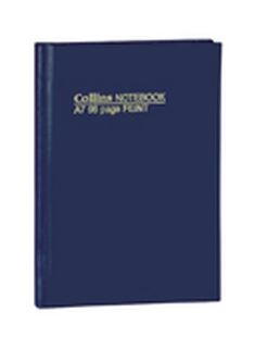 Product image: Collins Blue Soft Cover Notebooks