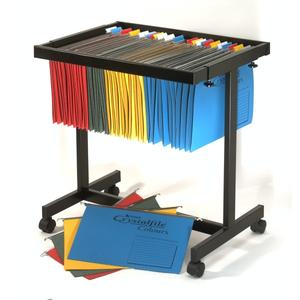 Product image: Crystalfile Suspension File Trolleys
