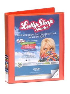 Product image: Bantex 2D 25mm LollyShop Insert Binders
