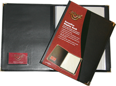 Product image: Waterville A4 Executive Display Book