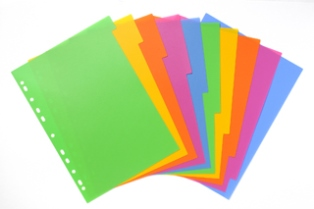 Product image: Bantex A4 Lollyshop Coloured Dividers