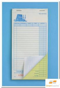 Product image: Zion Carbonless Restaurant Docket Books