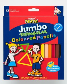 Product image: Texta Coloured Pencils