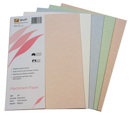 Product image: Quill A4 Parchment 89GSM Paper