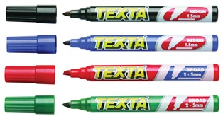 Product image: Texta Permanent Marker