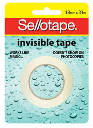 Product image: Sellotape Invisible Tape & Dispensers