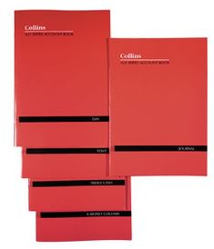 Product image: Collins A24 Softcover 24 Leaf Account Books