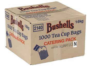 Product image: Bushell Tea Cups Bag 1.8KG