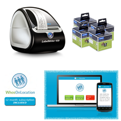 Product image: DYMO LabelWriter Visitor Management Bundle ( was $406.5 Smart Deal price now as listed)