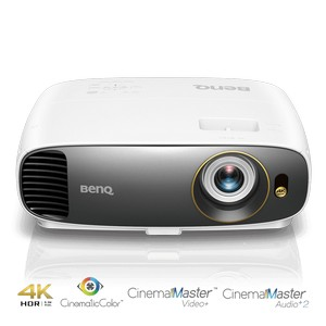 Product image: Benq W1700 DLP Video/Home Theatre Projector, UHD, 2,200 ANSI Lumens