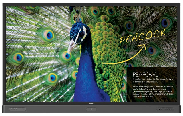 Product image: Benq RP750K Interactive Flat Panels 75 Inch