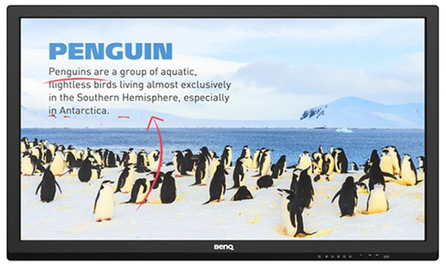 Product image: Benq RP552 Interactive Flat Panels 55 Inch