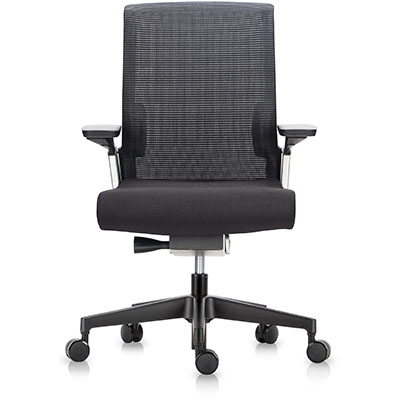 Product image: Match Ergonomic Chair Medium Mesh Back Black