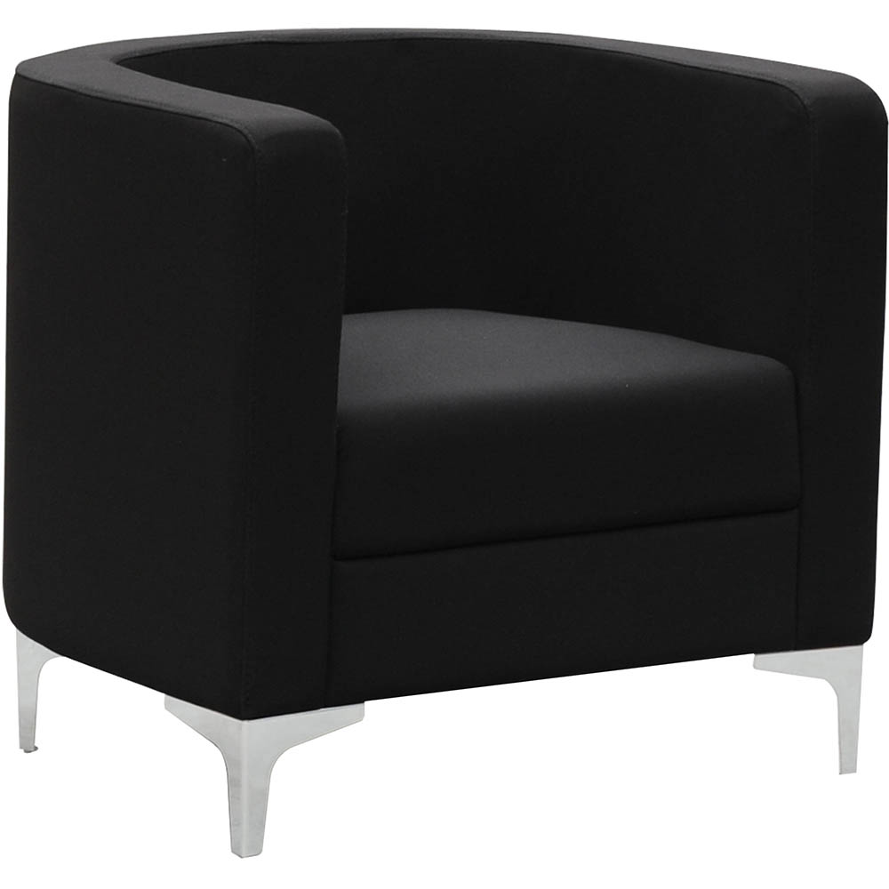 Product image: Miko Single Seater Sofa Chair Black