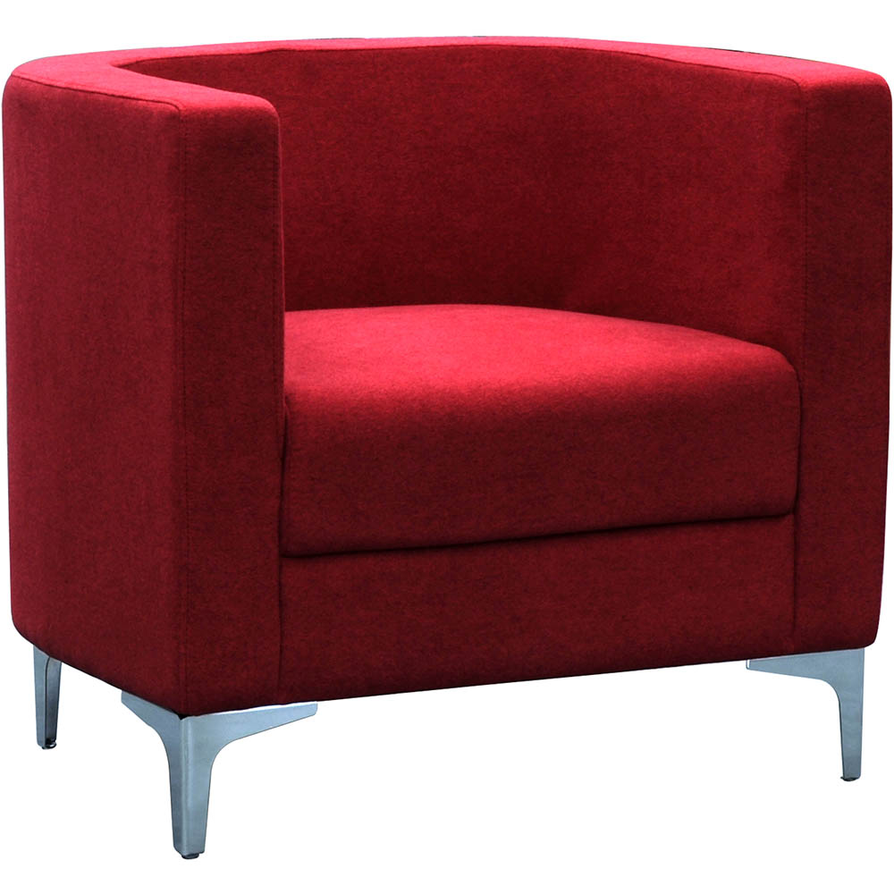 Product image: Miko Single Seater Sofa Chair Burgundy