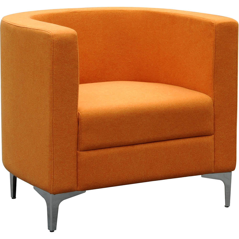 Product image: Miko Single Seater Sofa Chair Orange