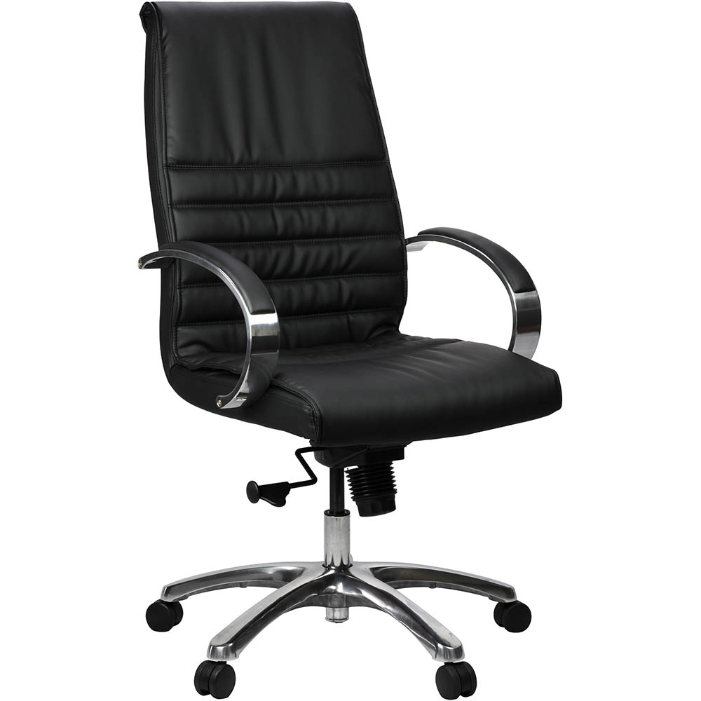 Product image: Franklin Executive Chair High Back Leather Black
