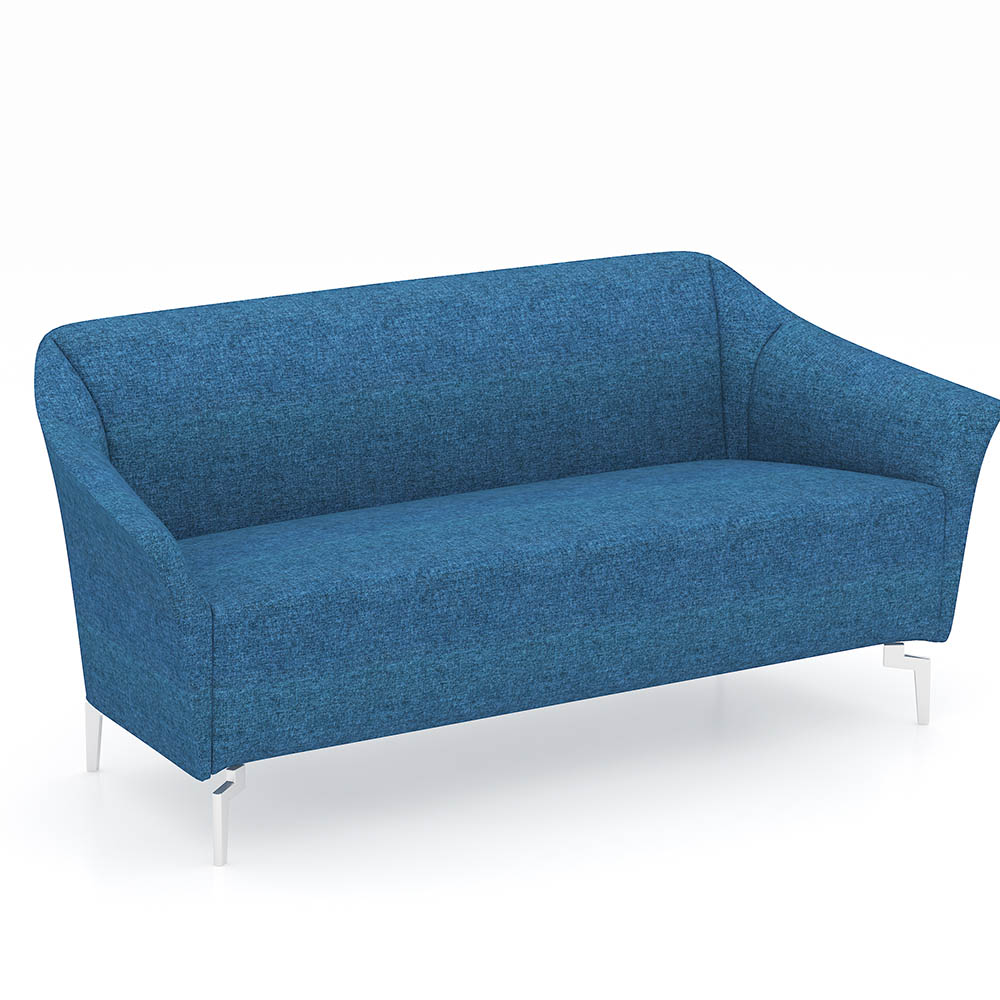 Product image: Venice Fabric Sofa Chair Two Seater Fabric Blue