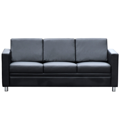 Product image: Marcus Lounge Three Seater Black