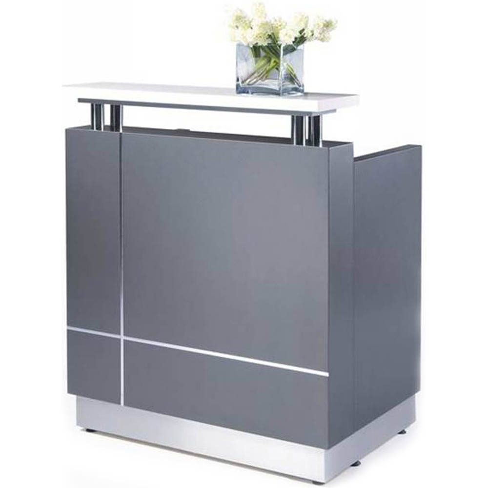 Product image: Receptionist Counter 880 X 690 X 1150Mm Grey
