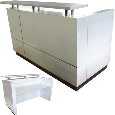 Product image: Hugo Reception Counter 1800 X 950 X 1150Mm White