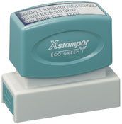 Product image: Xstamper Eco-Green N14 Custom Made Pre Inked Business Address Stamp 15.9 X 60.3Mm