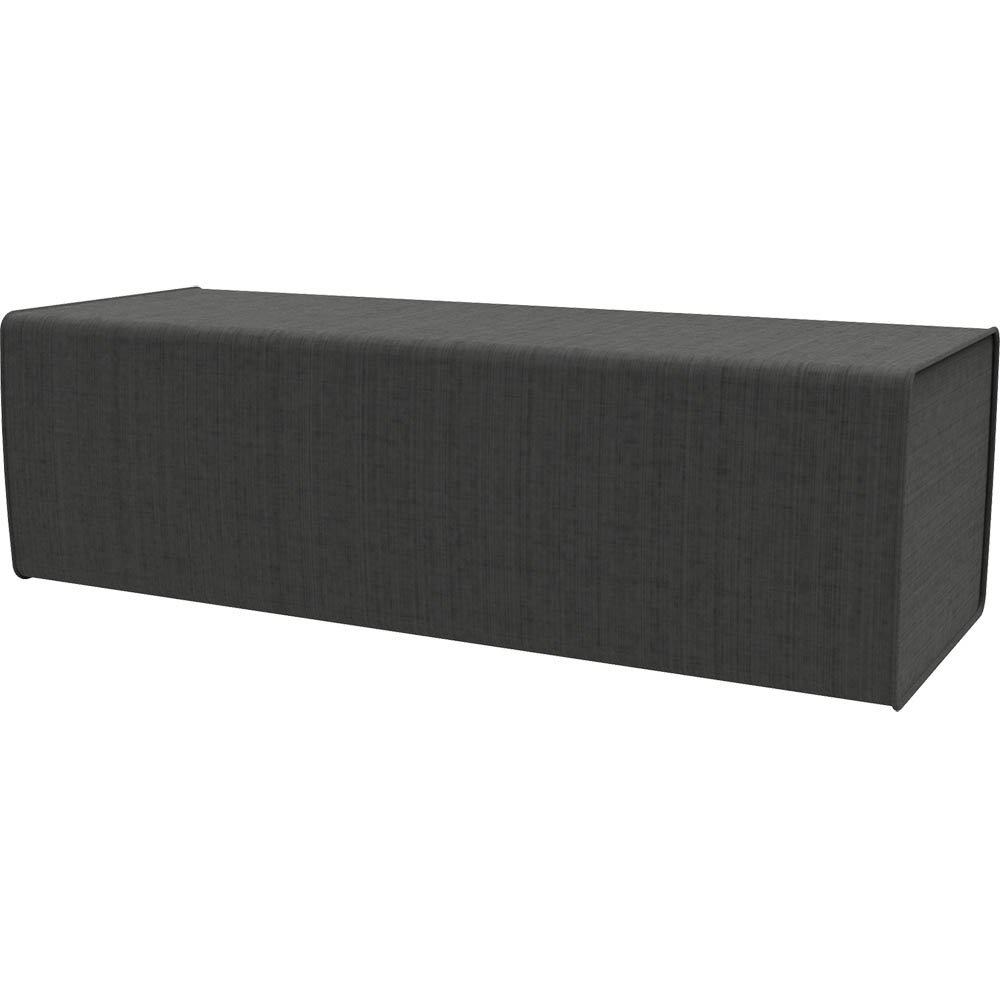 Product image: Rapidline Flexi Lounge Single Back Rest Module 925 X 355 X 280Mm Charcoal Ash
