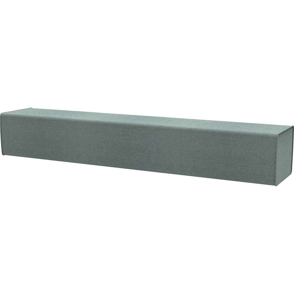 Product image: Rapidline Flexi Lounge Triple Back Rest Module 1830 X 355 X 280Mm Light Blue