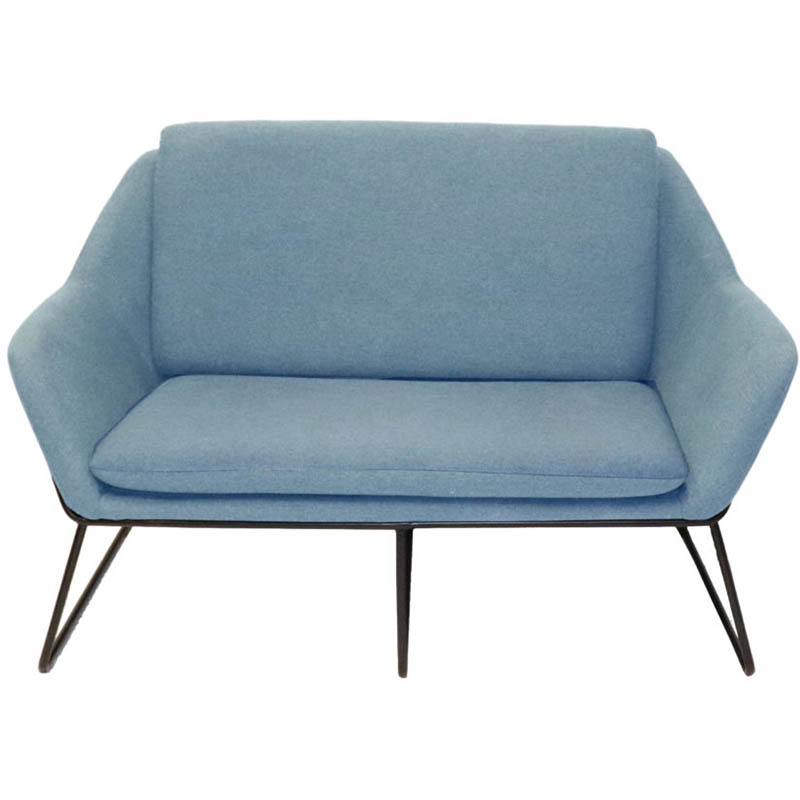 Product image: Rapidline Cardinal Lounge Chair 2 Seater Light Blue