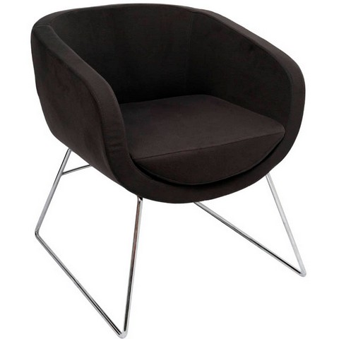Product image: Rapidline Splash Cube Lounge Chair Single Seat Charcoal