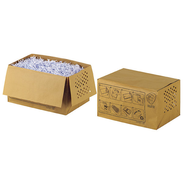 Product image: Rexel Auto+100 Shredder Bag Recyclable 26L