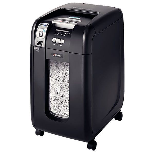 Product image: Rexel Auto+300X Cross Cut Shredder With Smartech