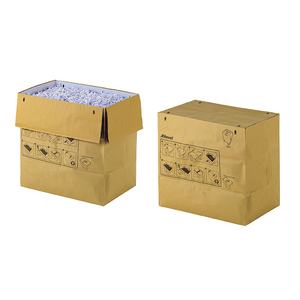 Product image: Rexel Mercury Recyclable Shredder Bag 70 Litre