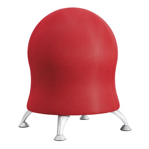 Product image: Safco Zenergy Ball Chair Red
