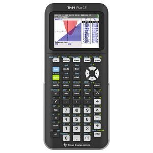 Product image: Texas Instruments Ti84 Plus Ce Colour Graphing Calculator