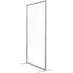 Product image: Visionchart Wave Screen Straight 1600 X 800Mm Clear
