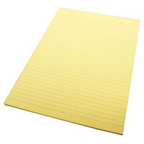 Product image: Quill Ruled Bond Pad A4 70 leaf - Yellow