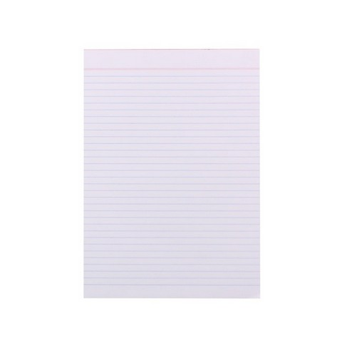Product image: Quill A4 Super Bank White Ruled Pad - 60gsm - 80 leaf