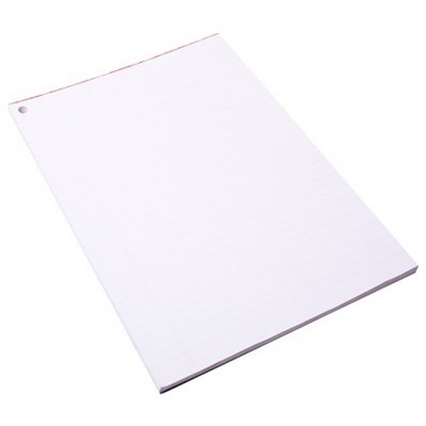 Product image: Quill Paper Exam Pad 60GSM A4 90 Sheets White