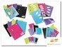 Product image: Colourhide Note Book A4 Colourhide Spiral Insert Foolscap Clear 120Pg
