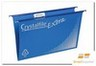 Product image: FILE SUSPENSION CLASSIC CRYSTALFILE FOOLSCAP COMPLETE BLUE