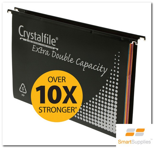 Product image: Crystalfile® Pp Extra Double Capacity Suspension Files (41532)