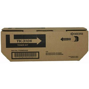 Product image: Kyocera Tk3104 Laser Toner Cartridge Black