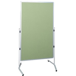 Product image: Visionchart Modulo Mobile Screen Double Sided Velour Fabric 1800 X 1000Mm Lime