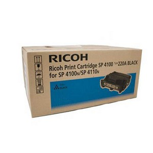 Product image: RICOH AFICIO SP4100 / SP4110N TONER CARTRIDGE BLACK