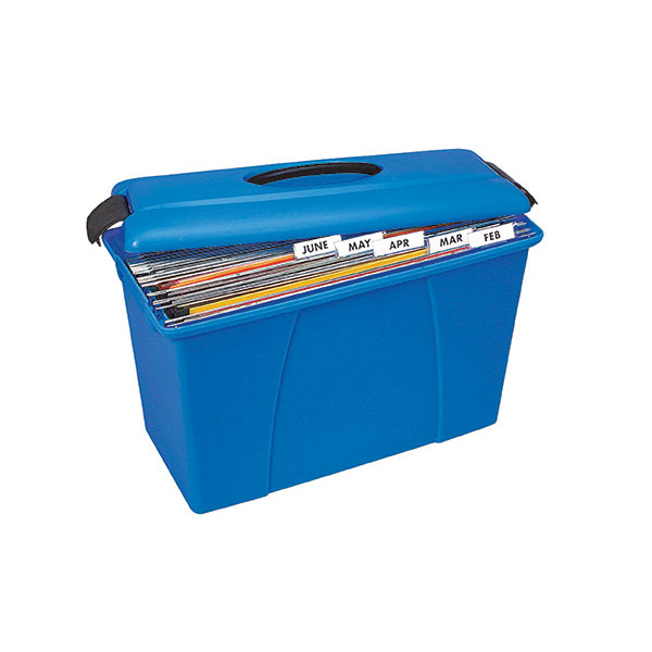 Product image: Crystalfile Blue Carry Case
