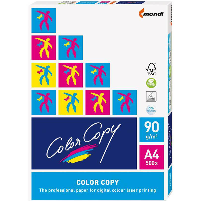 Product image: Color Copy A4 (210X 297) 90Gsm Paper