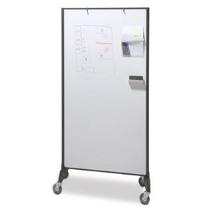 Product image: Visionchart Communicate Room Divider Double Sided Whiteboard 1820 X 950Mm